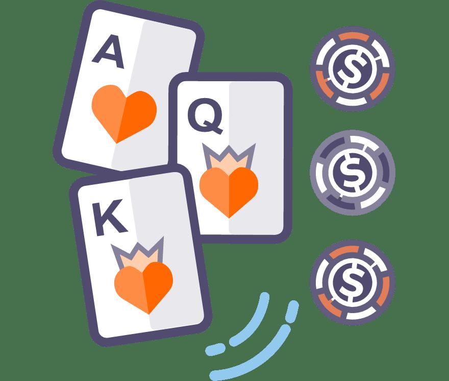 Jucați Poker cu trei cărți Online -Top 28 Cazino Onlineuri care plătesc cel mai bine 2021