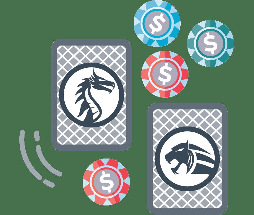 Jucați Dragon Tiger Online -Top 30 Cazino Onlineuri care plătesc cel mai bine 2021